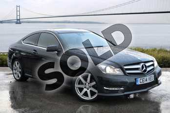 Mercedes-Benz C Class C250 CDI BlueEFFICIENCY AMG Sport 2dr Auto in Magnetite black metallic at Mercedes-Benz of Hull