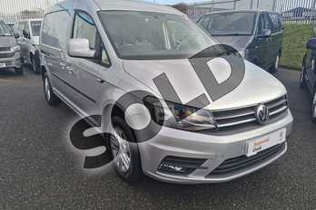 Volkswagen Caddy 2.0 TDI BlueMotion Tech 102PS Highline Van in Reflex silver at Listers Volkswagen Van Centre Worcestershire