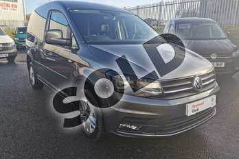 Volkswagen Caddy 2.0 TDI BlueMotion Tech 102PS Highline Nav Van in Indium Grey at Listers Volkswagen Van Centre Worcestershire