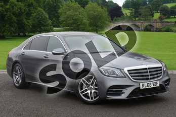 Mercedes-Benz S Class S350d L AMG Line Executive 4dr 9G-Tronic in selenite grey metallic at Mercedes-Benz of Boston