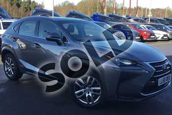 Lexus NX 300h 2.5 SE 5dr CVT in Mercury Grey at Lexus Lincoln