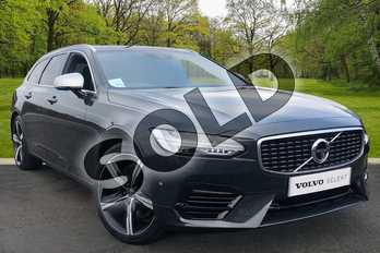 Volvo V90 2.0 T8 Hybrid R DESIGN Pro 5dr AWD Geartronic in Savile Grey at Listers Volvo Worcester