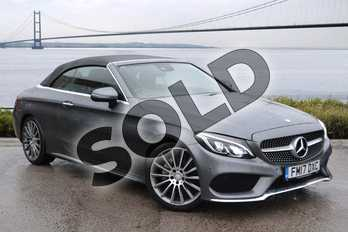 Mercedes-Benz C Class C220d AMG Line 2dr Auto in Selenite Grey Metallic at Mercedes-Benz of Hull