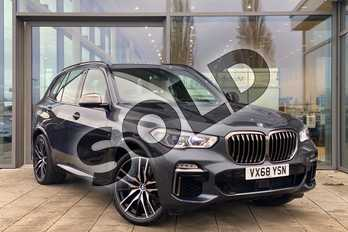 BMW X5 xDrive M50d 5dr Auto in Arctic Grey at Listers King's Lynn (BMW)