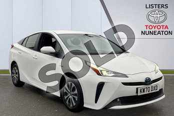 Toyota Prius  in White at Listers Toyota Nuneaton