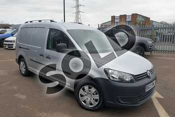 Volkswagen Caddy 1.6 TDI 102PS Van in Reflex silver at Listers Volkswagen Van Centre Coventry