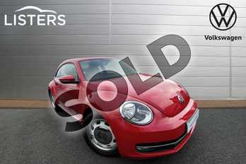 Volkswagen Beetle 2.0 TDI 150 Design 3dr DSG in Tornado Red at Listers Volkswagen Worcester
