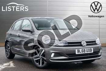 Volkswagen Polo 1.0 TSI 95 SE 5dr in Limestone Grey at Listers Volkswagen Leamington Spa
