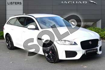 Jaguar XF 2.0d (180) Chequered Flag 5dr Auto in Yulong White at Listers Jaguar Droitwich