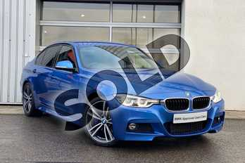 BMW 3 Series 320d M Sport 4dr Step Auto in Estoril Blue at Listers King's Lynn (BMW)