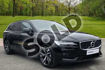 Volvo V60 2.0 D4 (190) R DESIGN Pro 5dr Auto in Onyx Black at Listers Volvo Worcester