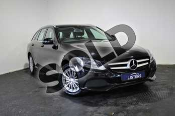 Mercedes-Benz C Class C220d SE Executive 5dr Auto in Metallic - Obsidian black at Listers U Stratford-upon-Avon