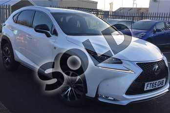 Lexus NX 200t 2.0 F-Sport 5dr Auto in F-Sport White at Lexus Lincoln