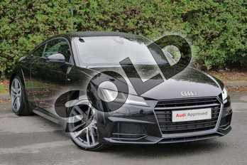 Audi TT 2.0T FSI S Line 2dr in Myth Black Metallic at Worcester Audi