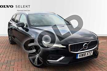 Volvo V60 2.0 D4 (190) Inscription Pro 5dr Auto in Onyx Black at Listers Volvo Worcester