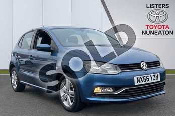 Volkswagen Polo 1.2 TSI Match 5dr DSG in Blue at Listers Toyota Nuneaton