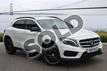 Mercedes-Benz GLA GLA 250 4Matic AMG Line 5dr Auto (Premium) in Cirrus White at Mercedes-Benz of Hull