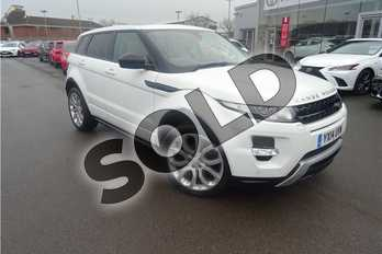 Range Rover Evoque 2.2 SD4 Dynamic 5dr Auto (9) in Solid - Fuji white at Lexus Lincoln