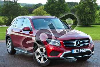 Mercedes-Benz GLC GLC 250 4Matic Sport 5dr 9G-Tronic in designo hyacinth red metallic at Mercedes-Benz of Grimsby