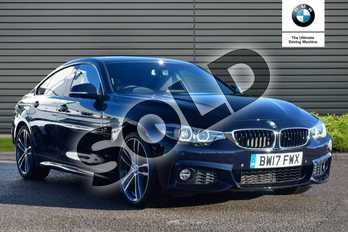 BMW 4 Series 430i M Sport 5dr Auto (Professional Media) in Carbon Black at Listers Boston (BMW)