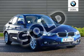 BMW 3 Series 320d EfficientDynamics Plus 4dr Step Auto in Mediterranean Blue at Listers Boston (BMW)