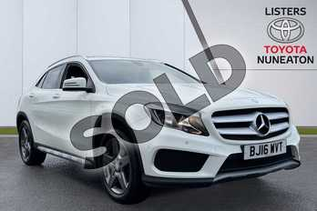 Mercedes-Benz GLA GLA 200d AMG Line 5dr (Executive) in White at Listers Toyota Nuneaton