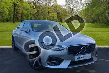 Volvo S90 2.0 D4 R DESIGN 4dr Geartronic in Bright Silver at Listers Volvo Worcester