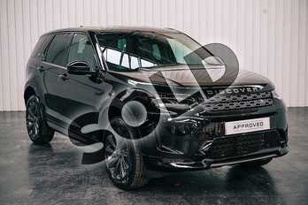 Land Rover Discovery Sport 2.0 D180 R-Dynamic SE 5dr Auto (5 Seat) in Santorini Black at Listers Land Rover Solihull