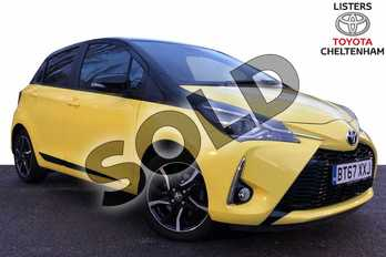 Toyota Yaris 1.5 VVT-i Yellow Edition 5dr in Yellow at Listers Toyota Cheltenham