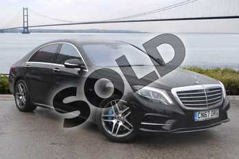 Mercedes-Benz S Class S500e L AMG Line 4dr Auto (Executive) in Obsidian Black metallic at Mercedes-Benz of Hull