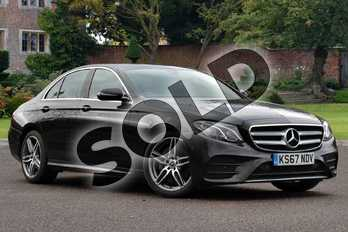 Mercedes-Benz E Class E220d AMG Line 4dr 9G-Tronic in Obsidian Black Metallic at Mercedes-Benz of Lincoln