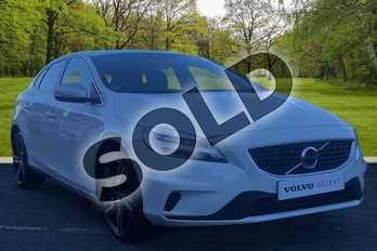 Volvo V40 T3 (152) R DESIGN Pro 5dr Geartronic in Ice White at Listers Volvo Worcester