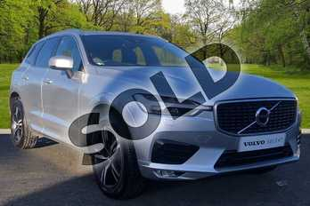 Volvo XC60 2.0 D4 R DESIGN 5dr AWD Geartronic in Bright Silver at Listers Volvo Worcester