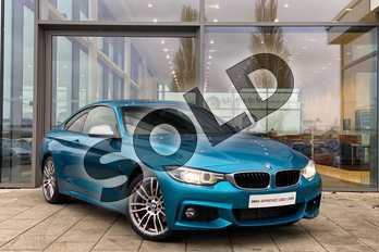 BMW 4 Series 430d M Sport 2dr Auto (Professional Media) in Snapper Rocks at Listers King's Lynn (BMW)