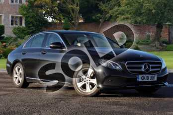 Mercedes-Benz E Class E220d SE 4dr 9G-Tronic in obsidian black metallic at Mercedes-Benz of Lincoln