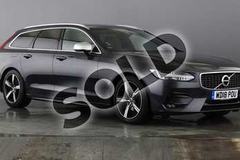 Volvo V90 2.0 D4 R DESIGN 5dr Geartronic in Savile Grey at Listers Volvo Worcester
