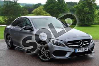 Mercedes-Benz C Class C200 AMG Line 4dr 9G-Tronic in selenite grey metallic at Mercedes-Benz of Grimsby