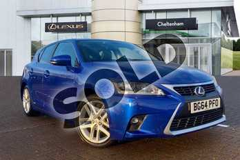 Lexus CT 200h 1.8 Premier 5dr CVT Auto in Blue at Lexus Cheltenham