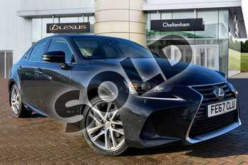 Lexus IS 300h Luxury 4dr CVT Auto in Black at Lexus Cheltenham