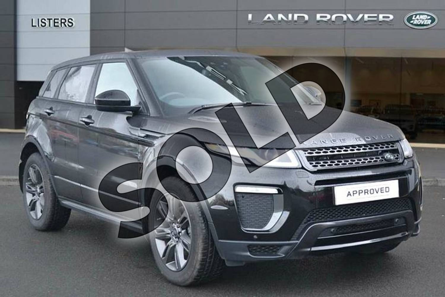 2018 Range Rover Evoque Hatchback Special Edition Special Edition 2.0 TD4 Landmark 5dr in Santorini Black at Listers Land Rover Hereford
