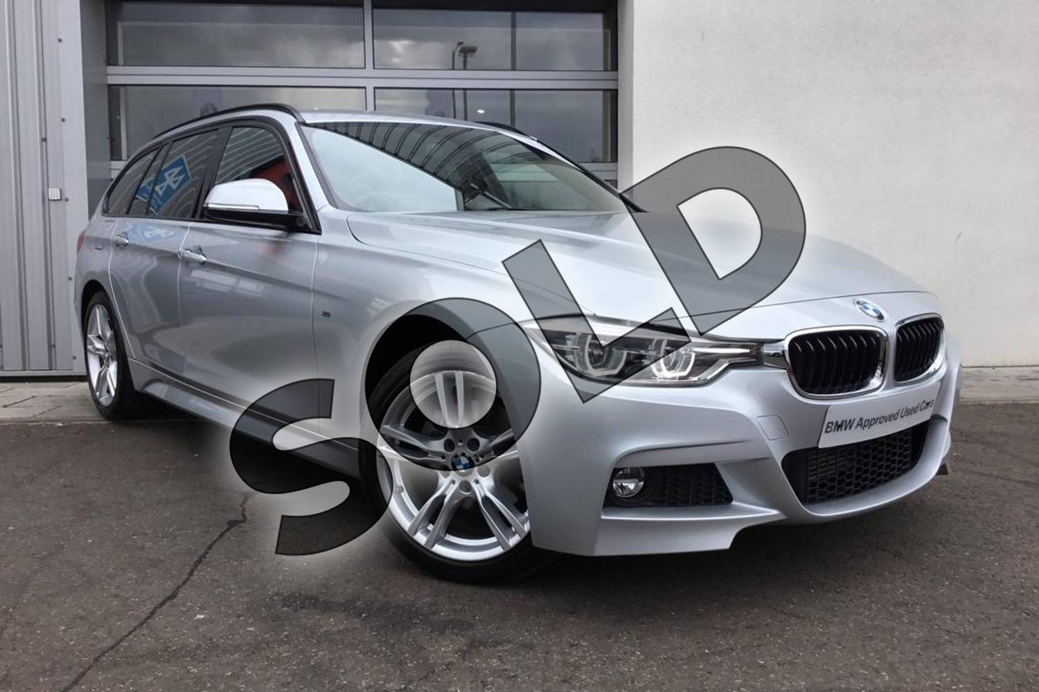 2018 BMW 3 Series Diesel Touring Diesel Touring 320d xDrive M Sport 5dr Step Auto in Glacier Silver at Listers King's Lynn (BMW)