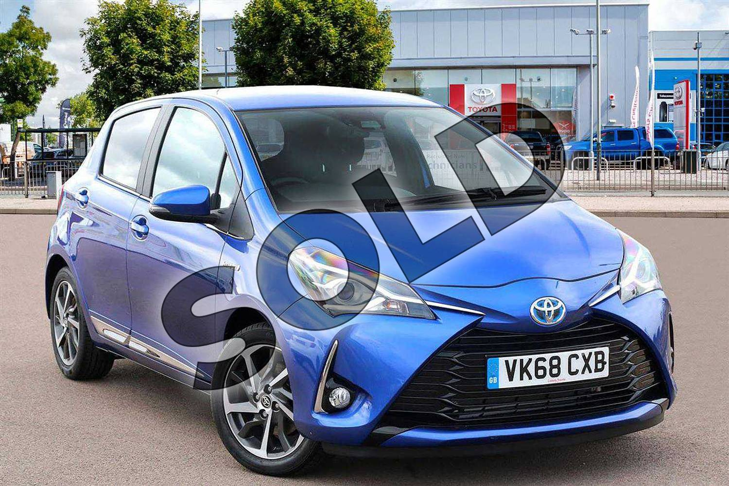 dac02e7a04 2018 Toyota Yaris Hatchback 1.5 VVT-i Excel 5dr in Nebula Blue at Listers  Toyota