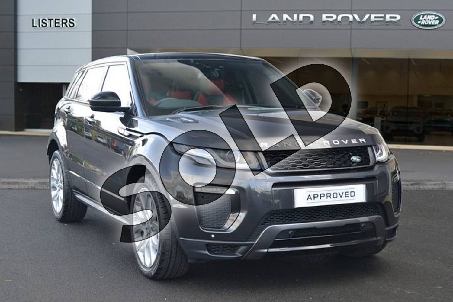 2019 Range Rover Evoque Diesel Hatchback Diesel 2.0 TD4 HSE Dynamic 5dr Auto in Carpathian Grey at Listers Land Rover Hereford