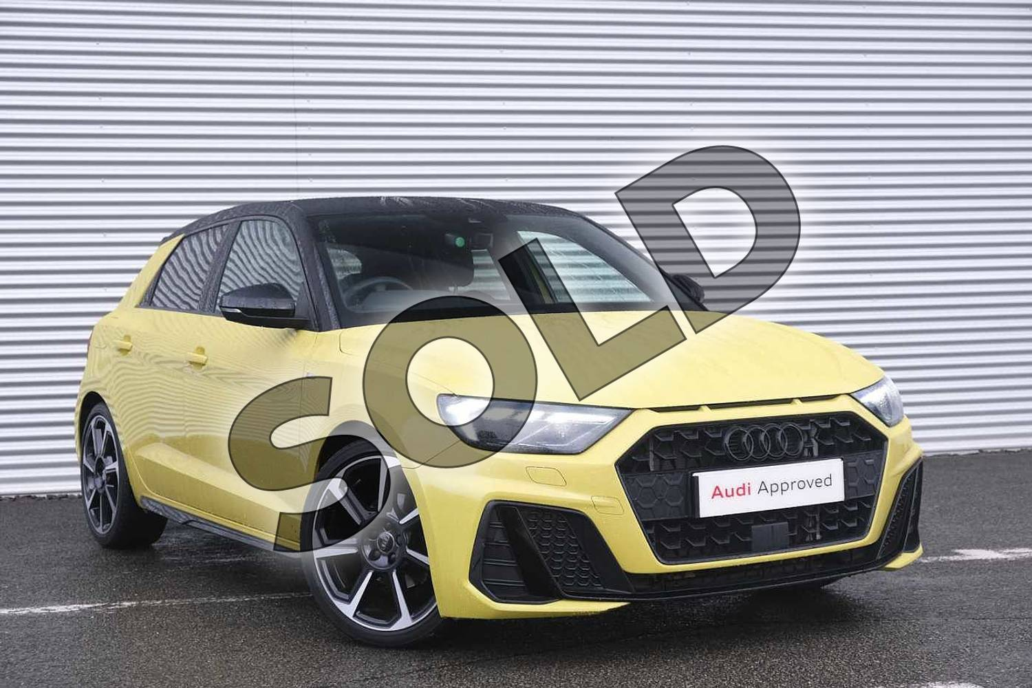 Audi A1 Special Editions 35 TFSI S Line Contrast Edition 5dr S Tronic