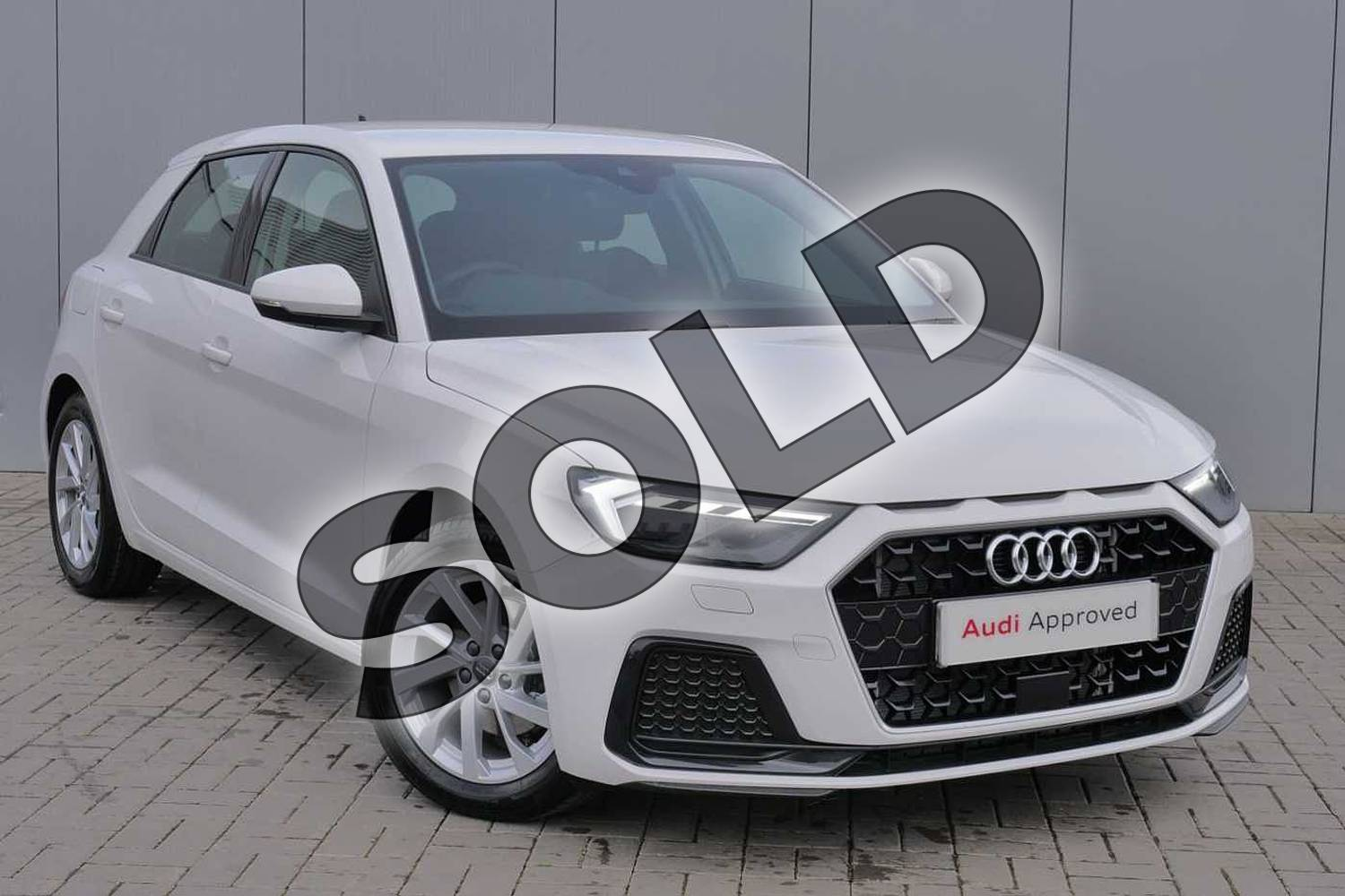 2019 Audi A1 Sportback 35 TFSI Sport 5dr S Tronic in Shell White at Stratford Audi