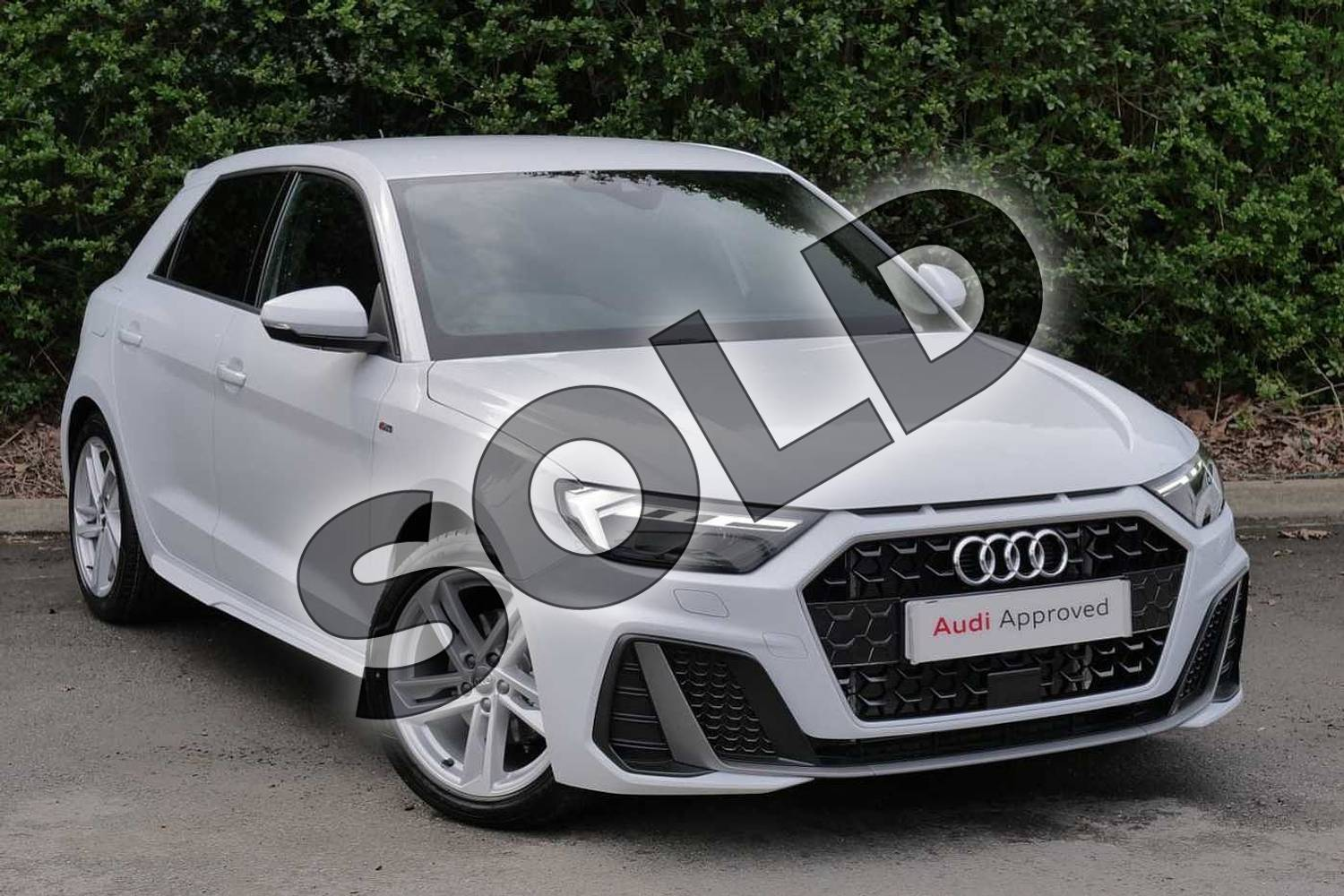 2019 Audi A1 Sportback 35 TFSI S Line 5dr S Tronic in Glacier White Metallic at Worcester Audi