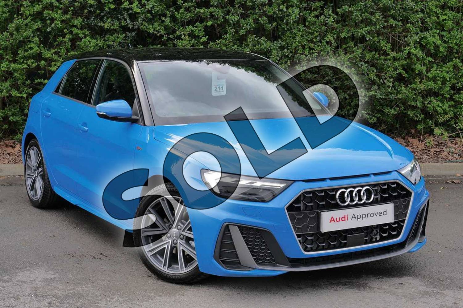 2019 Audi A1 Sportback 35 TFSI S Line 5dr in Turbo Blue at Worcester Audi