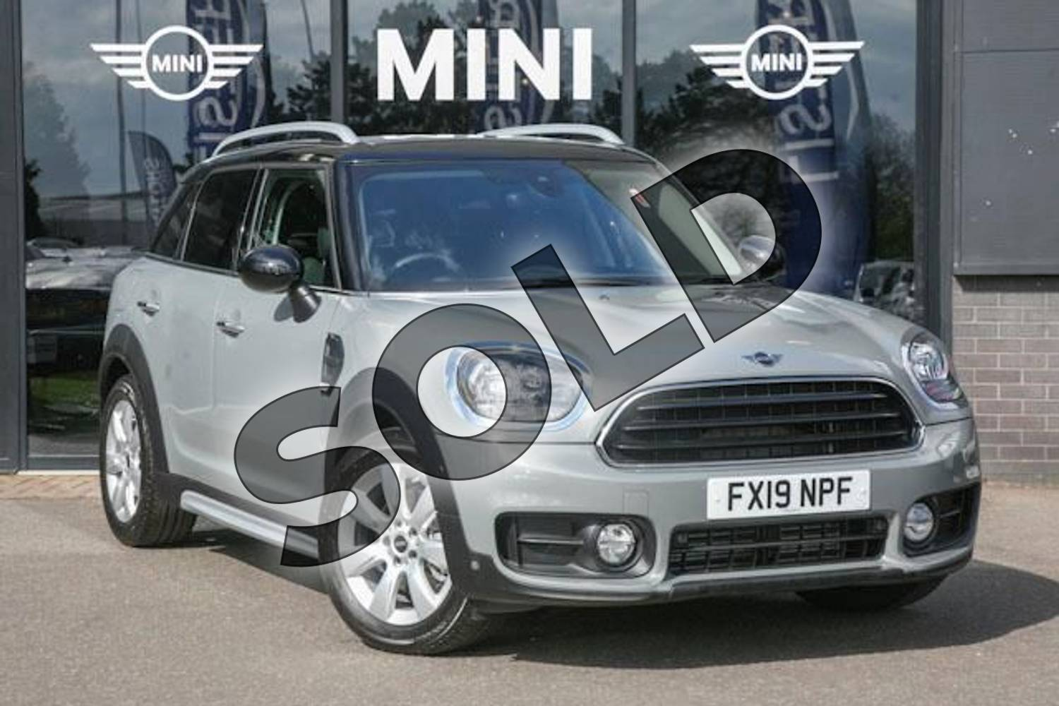 Mini Countryman Diesel 20 Cooper D 5dr For Sale At Listers Boston