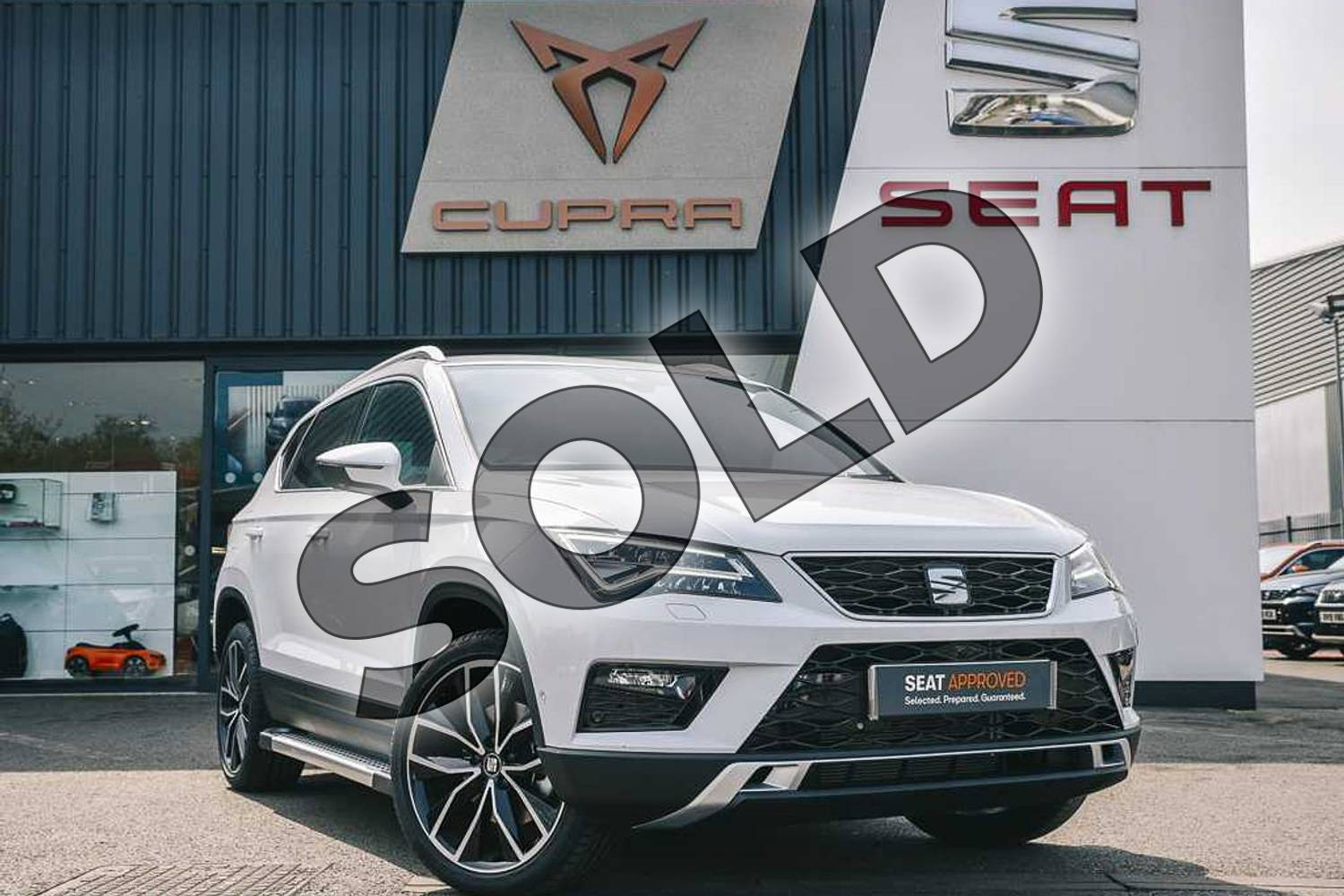 2019 SEAT Ateca Estate 1.5 TSI EVO Xcellence Lux (EZ) 5dr in White at Listers SEAT Coventry