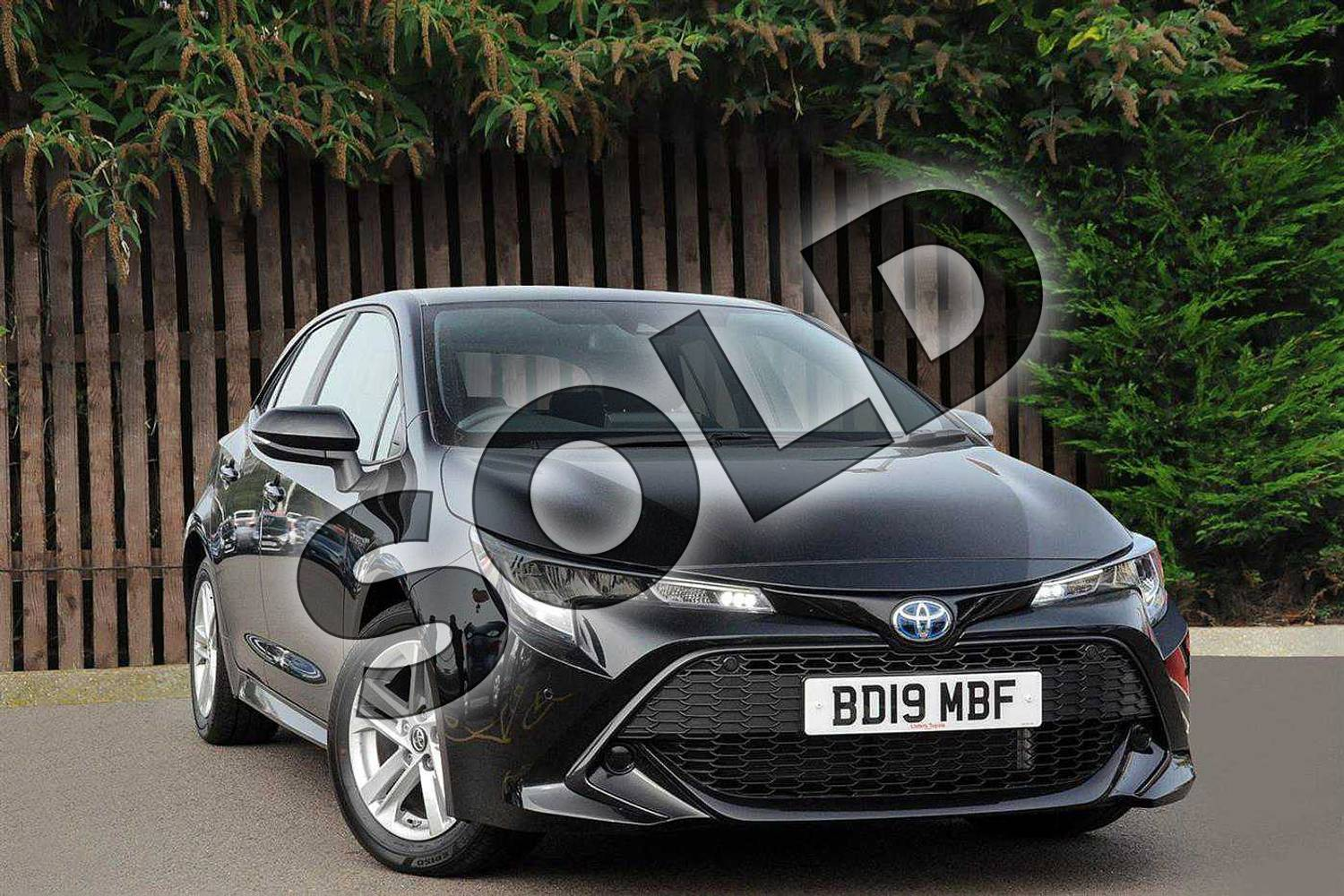 2019 Toyota Corolla Hatchback 1.8 VVT-i Hybrid Icon Tech 5dr CVT in Eclipse Black at Listers Toyota Coventry
